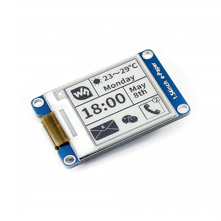 1.54 inch e-Ink Paper Display Module with SPI Interface