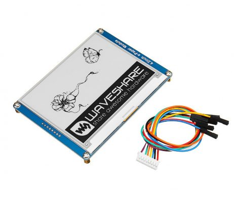 4.2-inch e-Ink Paper Display Module with SPI Interface