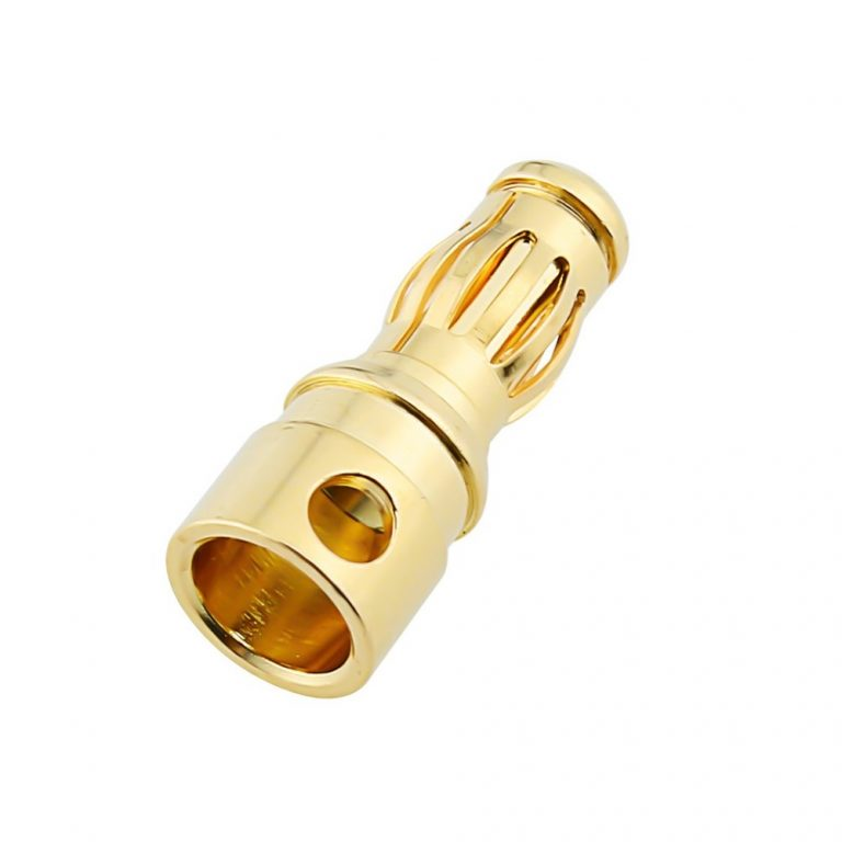 4mm Gold Connectors Male-