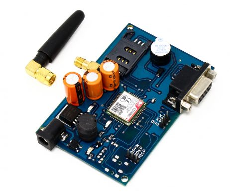 GSM SIM800C Modem with Antenna