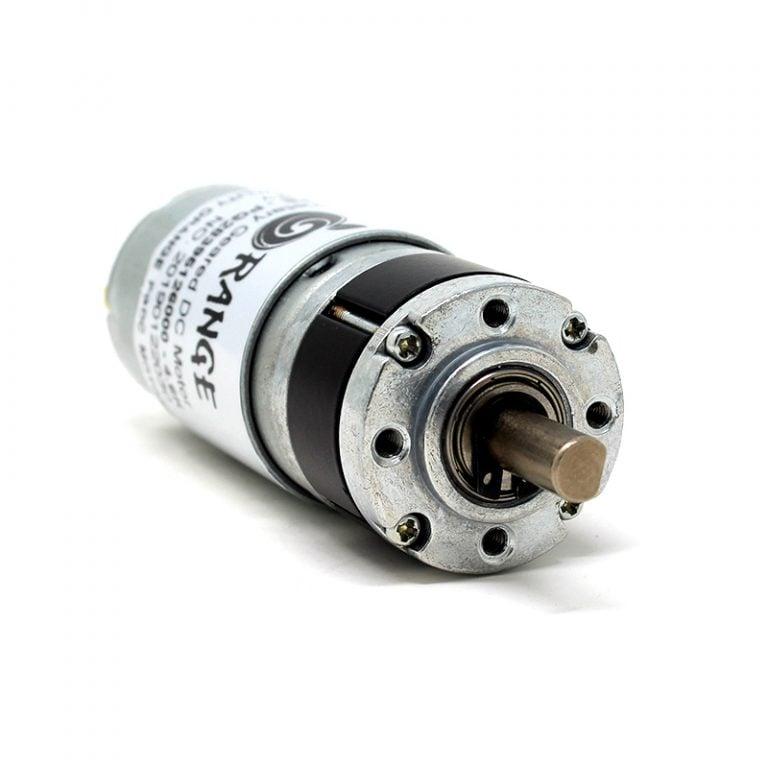 Orange Planetary Gear DC Motor 12V 236 RPM 1.90 Kg-CM PG28M395-21.5K