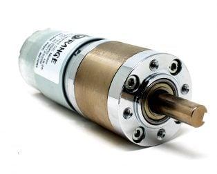 Orange Planetary Gear DC Motor 12V 262RPM 4.52Kg-CM-PG36M555-19.2K
