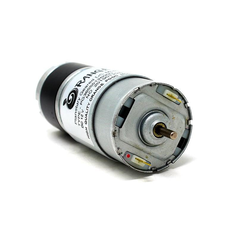 Orange Planetary Gear DC Motor 12V 359RPM 3.5Kg-CM PG36M555-13.7K