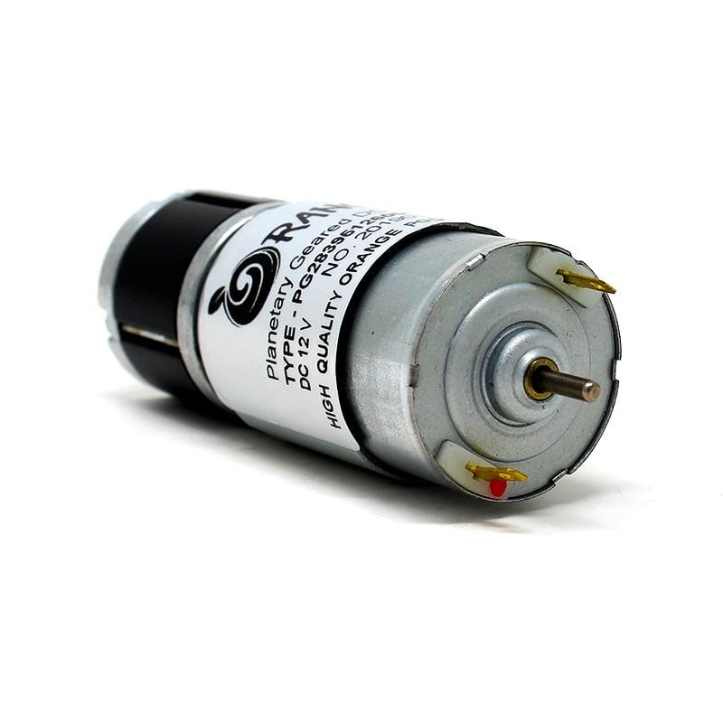 Orange Planetary Gear DC Motor 12V 970 RPM 1.49Kg-CM-PG36M555-5.2K