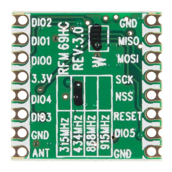 RFM69HCW Wireless Receiving Module-434 MHz