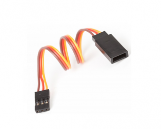 SafeConnect Flat 30CM 22AWG Servo Lead Extension (JR) Cable