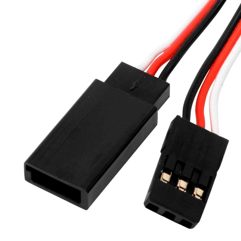 SafeConnect Flat 15CM Servo Lead Extension (Futaba) Cable