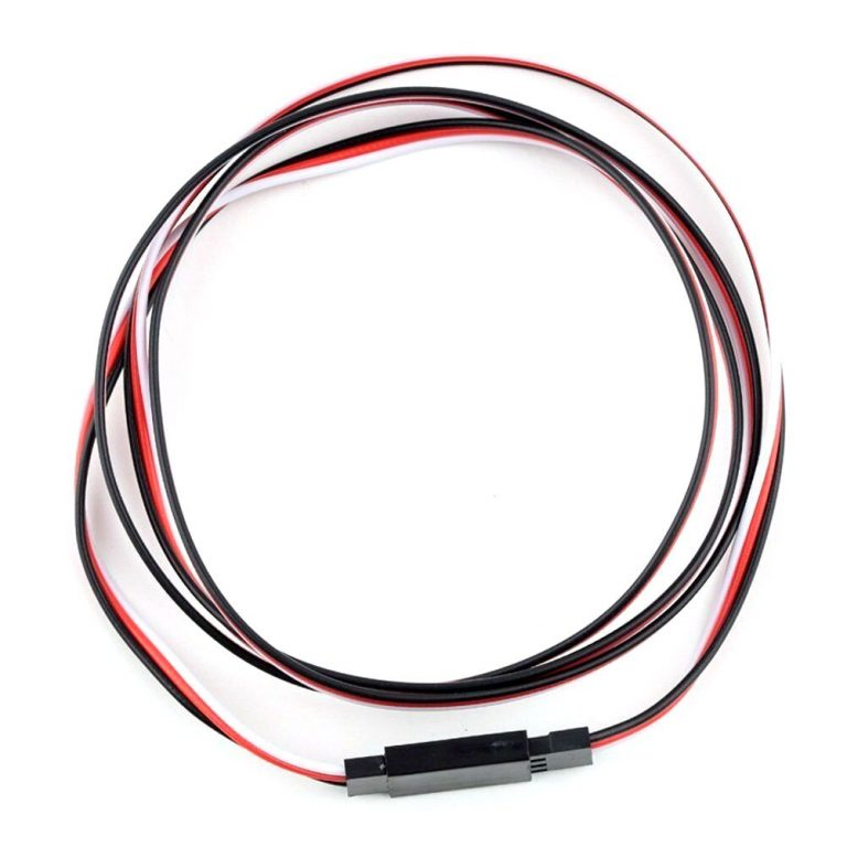 SafeConnect FLAT 60CM Servo Lead Extension (Futaba) Cable