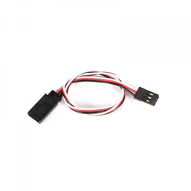SafeConnect Flat 15CM Servo Lead Extension (Futaba) Cable
