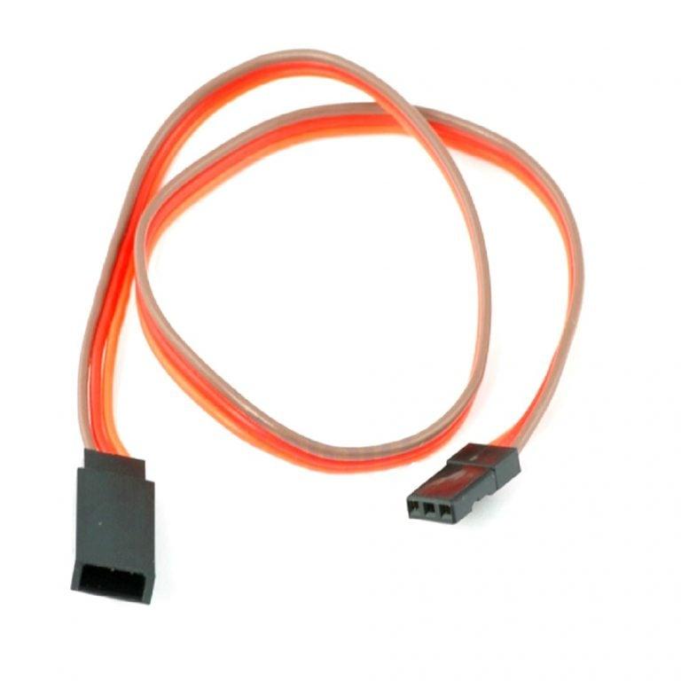SafeConnect FLAT 45CM 26AWG Servo Lead Extension (JR) Cable