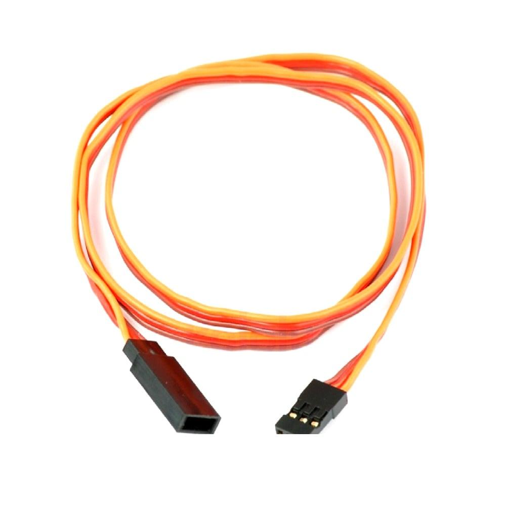 SafeConnect FLAT 60CM 26AWG Servo Lead Extension (JR) Cable
