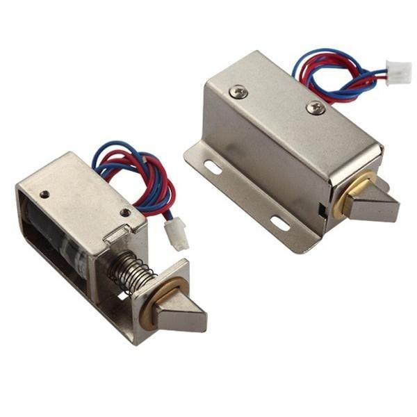 1240 12V DC 0.6A 7.5W Solenoid for Electric Door Lock