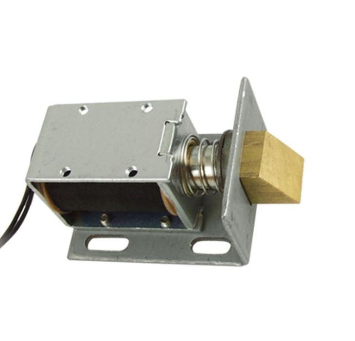 1240-12V DC 12V 1.7A 20.6W 1kg Holding Solenoid for Electric Door Lock