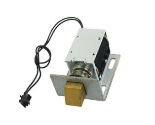 1240-12V DC 12V 1.7A 20.6W 1kg Holding Solenoid for Electric Door Lock