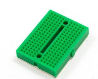 170 pts Mini Breadboard SYB-170 Green - ROBU.IN