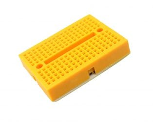 170 pts Mini Breadboard SYB-170 Yellow - ROBU.IN
