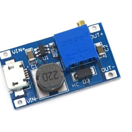 XY-016 2A DC-DC Step Up 5V/9V/12V/28V Power Module with Micro USB