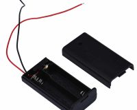 2 x 1.5V AA battery holder with cover and OnOff Switch