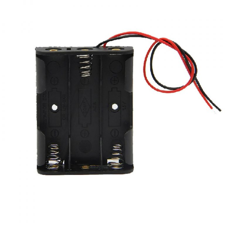 3 x 1.5V AA Battery Holder Without Cover