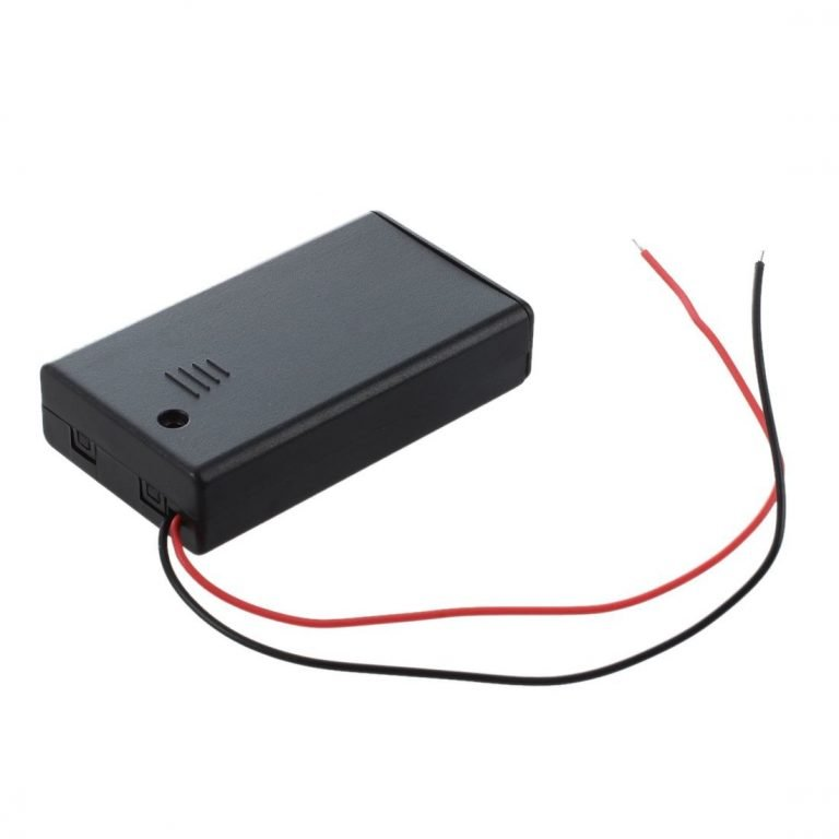 3 x 1.5V AAA battery holder with cover and OnOff Switch