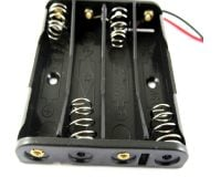 4 x 1.5V AAA Battery Holder Without Cover