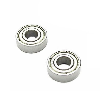 606ZZ Bearing 6x17x6 Stainless Steel Shielded Miniature Bearings - 2 Pcs