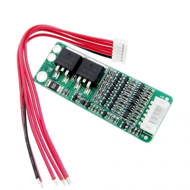 5S 15A 18650 Li-ion Lithium Battery BMS Charger Protection Board for 18V 21V Battery - ROBU.IN