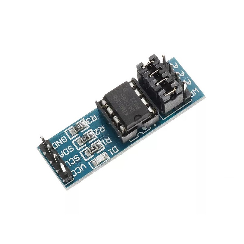 AT24C256 Serial EEPROM I2C IIC Interface Data Storage Module for Arduino -  Robu in | Indian Online Store | RC Hobby | Robotics