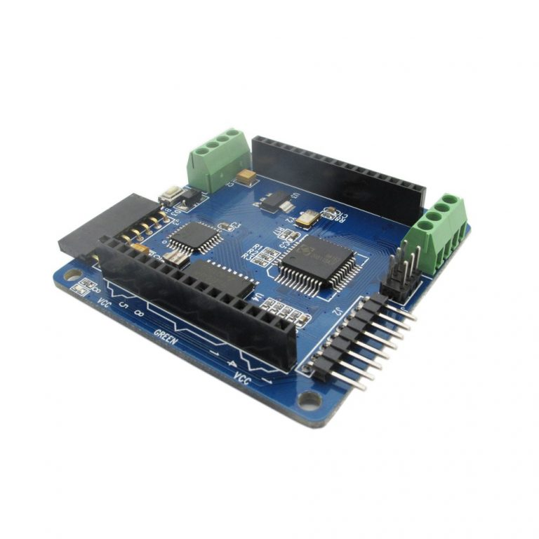 Colorduino LED RGB Dot Matrix Driver Board with 5mm 8x8 RGB LED for Arduino -ROBU.IN