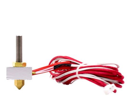 Complete Kit of MK8 Extruder with 0.5mm Nozzle (Assembled)