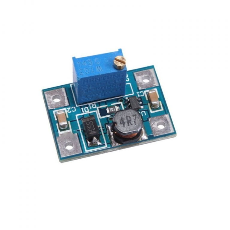 DC-DC Step Up SX1308 Adjustable Power Supply 28V 2A 1.2Mhz Power Booster Module - ROBU.IN