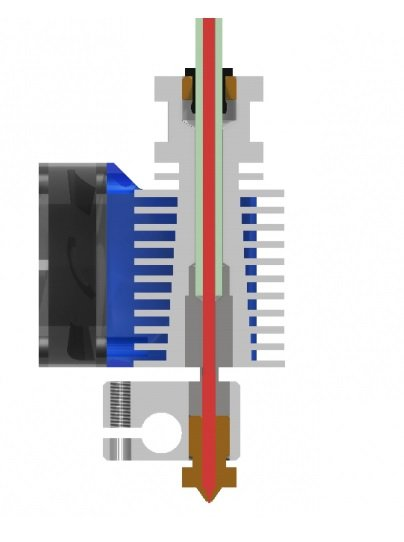 E3D V6 12V Direct Drive All-Metal Hotend Kit - 1.75mm