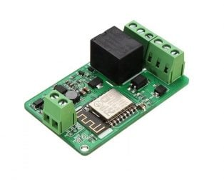 ESP8266 10A DC 7-30V Network Relay WIFI Module - ROBU.IN