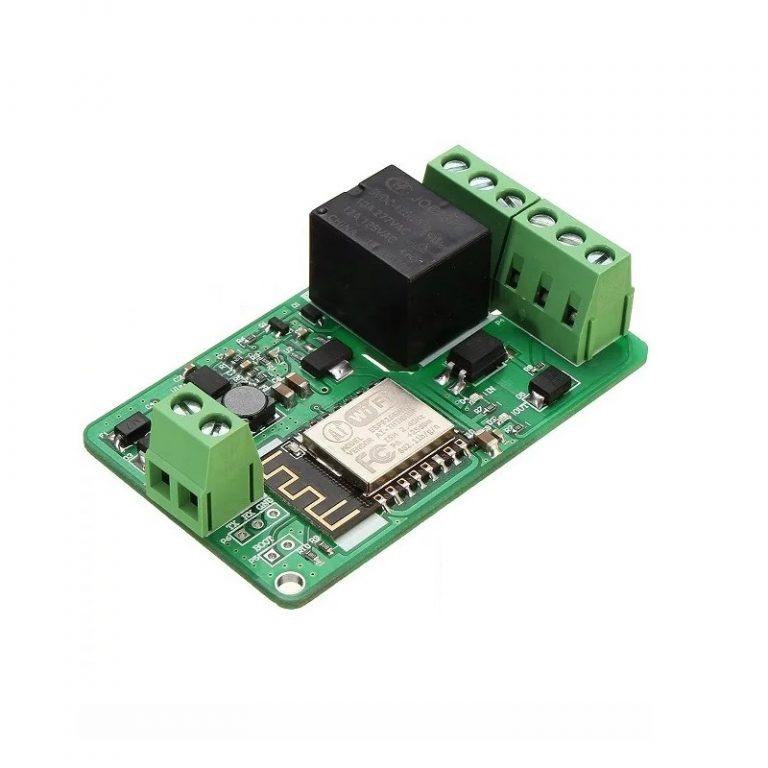 ESP8266 10A DC 7-30V Network Relay WIFI Module - ROBU.IN