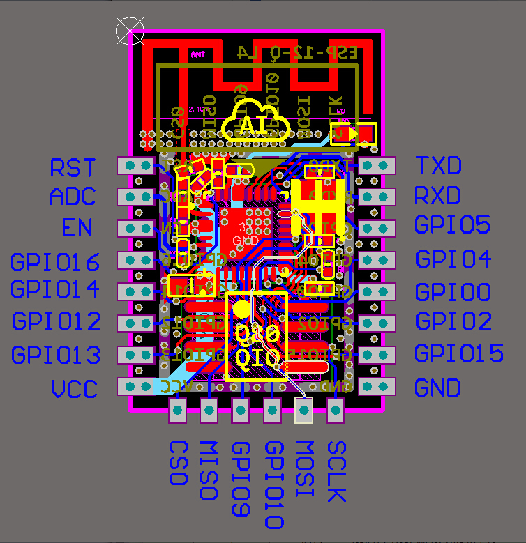 ESP8266 Remote Serial Port WIFI Transceiver Wireless Module -ROBU.IN