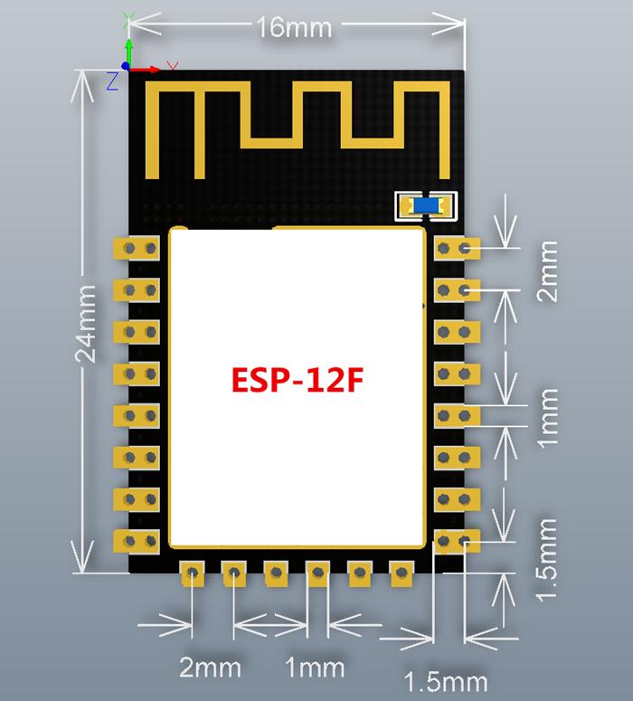 ESP8266 Remote Serial Port WIFI Transceiver Wireless Module- ROBU.IN