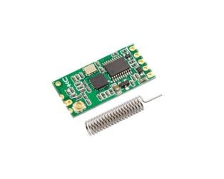 HC-11 CC1101 433MHz Wireless Transceiver RF Serial UART Module- ROBU.IN