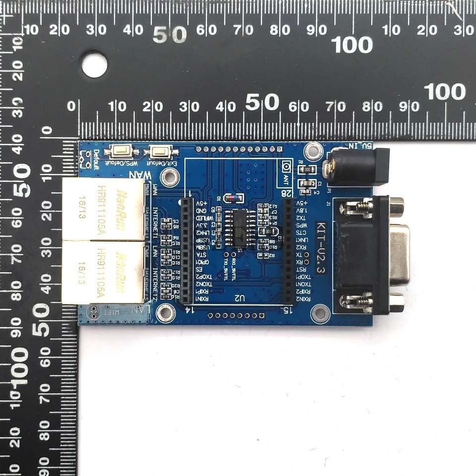 HLK-RM04 UART to Serial Wifi Ethernet Wifi Module --ROBU.IN