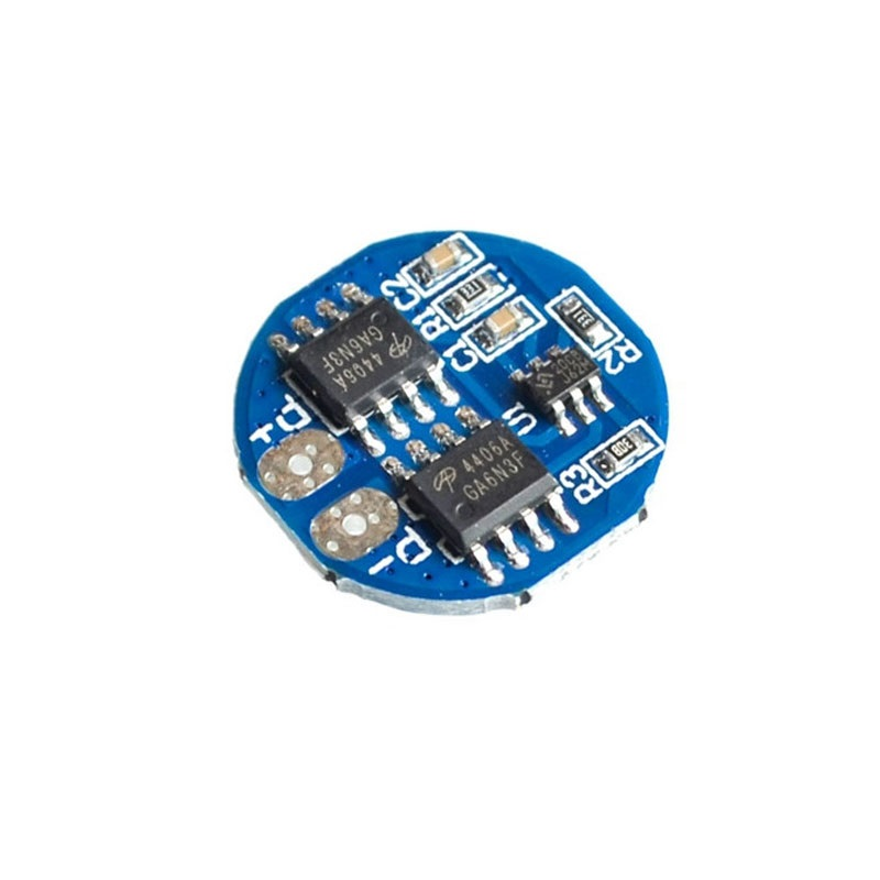 HX-2S-A2 Circular 2S 8.4V BMS 18650 Lithium Battery Protection Plate -ROBU.IN