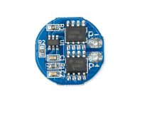 HX-2S-A2 Circular 2S 8.4V BMS 18650 Lithium Battery Protection Plate - ROBU.IN