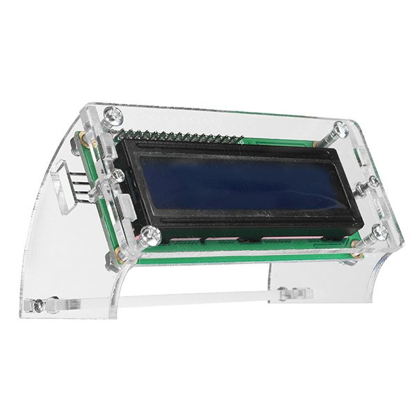 LCD1602 Display Shell Case Holder - ROBU.IN