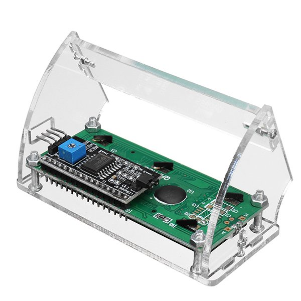 LCD1602 Display Shell Case Holder -ROBU.IN