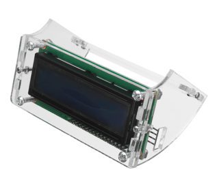 LCD1602 Display Shell Case Holder- ROBU.IN