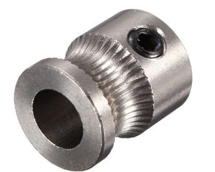 MK7 Stainless Steel Extrusion Gear
