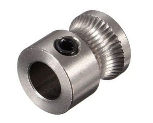MK8 Stainless Steel Extrusion Gear (1)