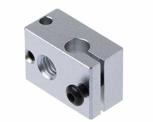 New V6 Heating Block Compatible with PT100 Sensor