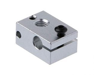 New V6 Heating Block Compatible with PT100 Sensor