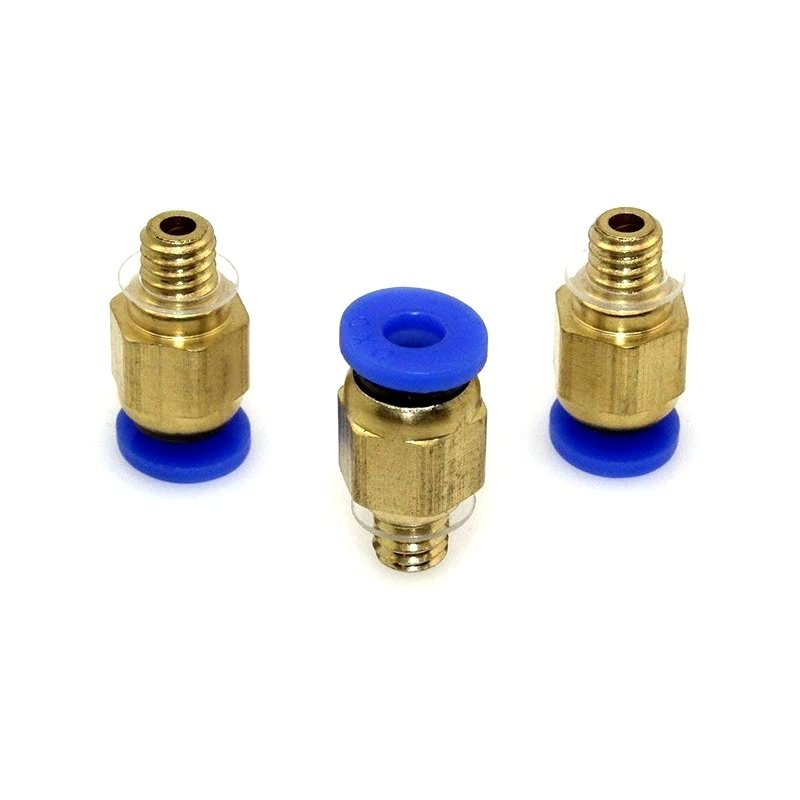PC4-M6 Pneumatic Push in Bowden Extruder for 3mm J-Head fitting