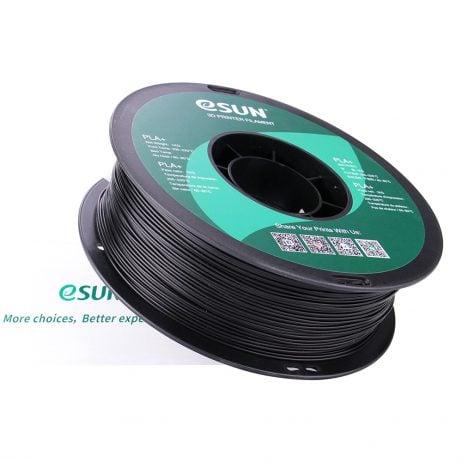 eSun PLA+ 1.75mm 3D Printing Filament 1kg-Black
