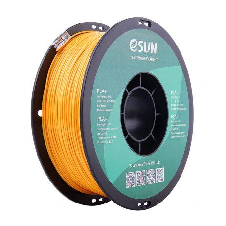 eSun PLA+ 1.75mm 3D Printing Filament 1kg-Gold